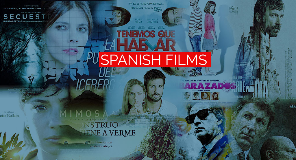 Let's watch Spanish films and learn Spanish.