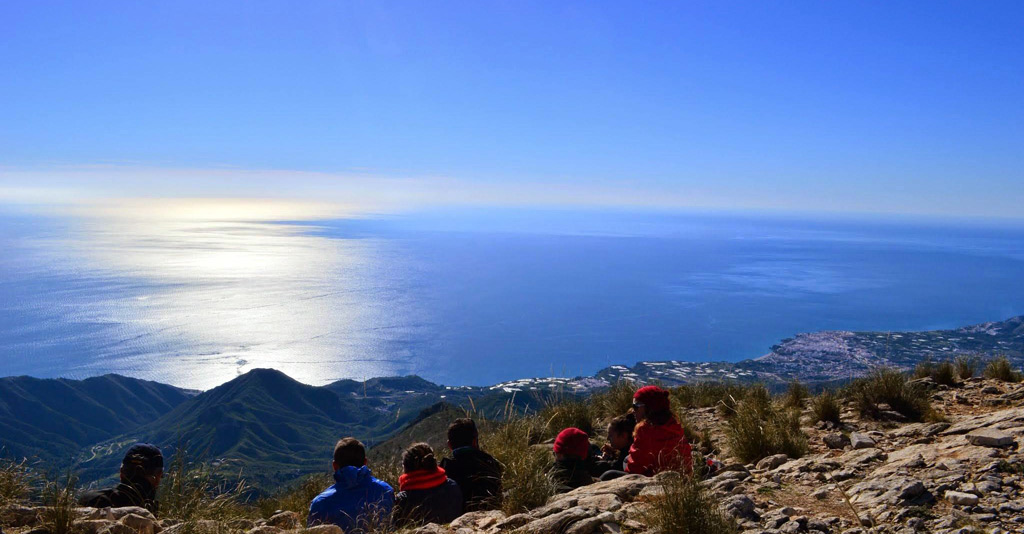 Walking Excursions around Nerja.